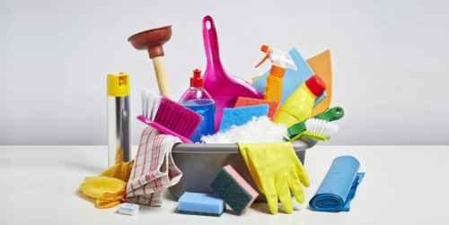 Dụng cụ cần thiết để làm sạch nấm mốc vòi hoa sen